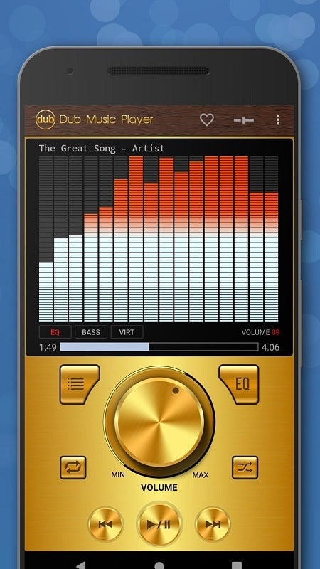 Dub Music Player mod android