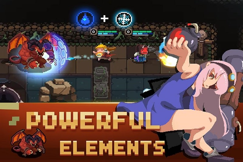 Elemental Dungeon mod android