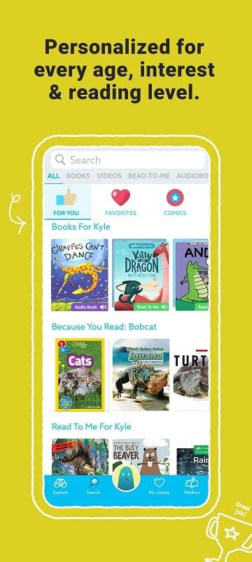 Epic Kids Books Educational mod download