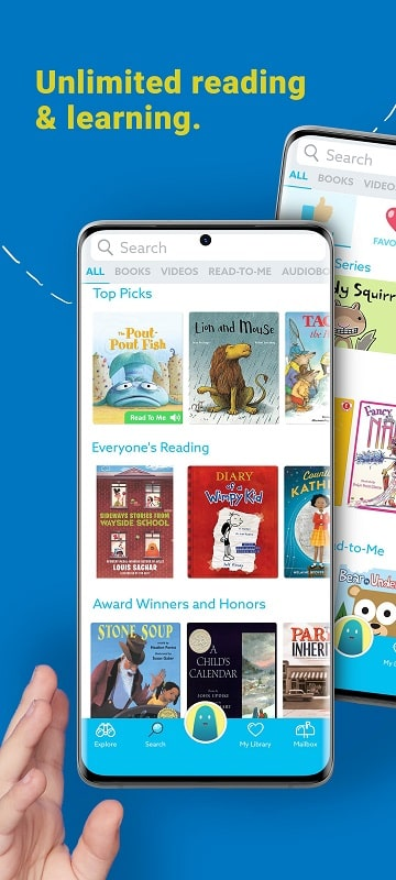 Epic Kids Books Educational mod