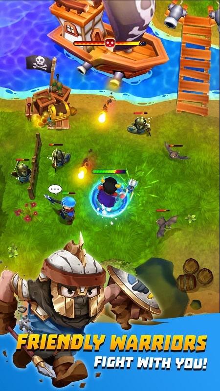 Epic Magic Warrior mod