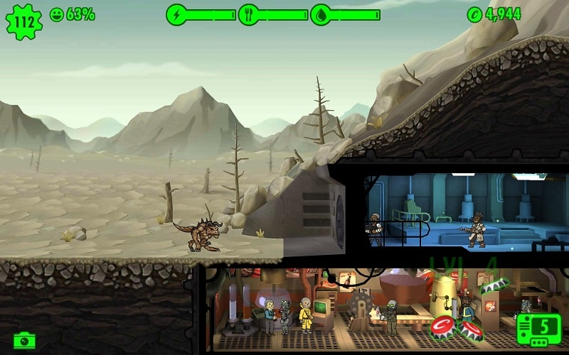Fallout Shelter mod android