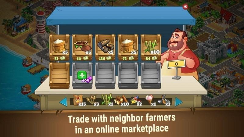 Farm Dream mod apk free