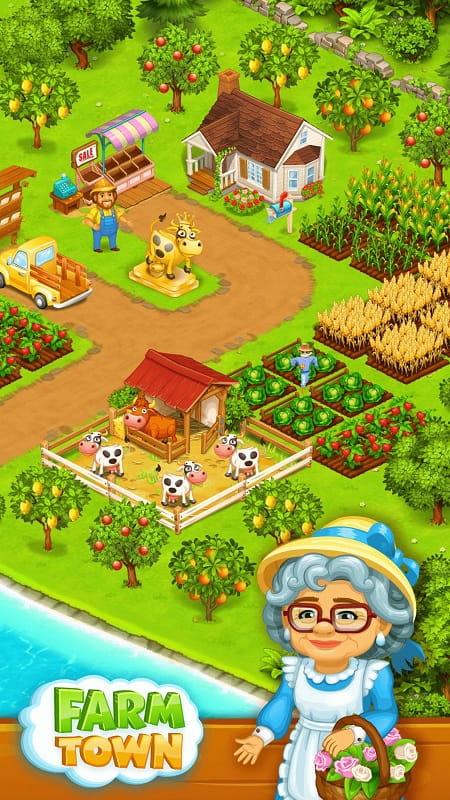 Farm Town mod