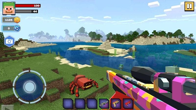 Fire Craft 3D Pixel World mod apk