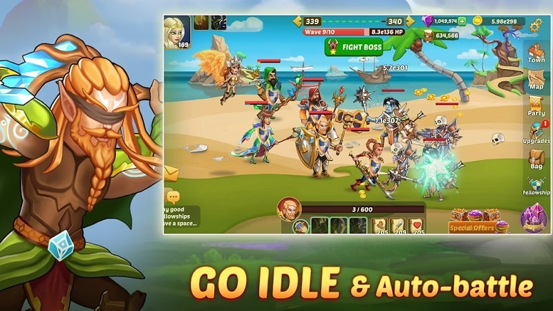 Firestone Idle RPG mod download