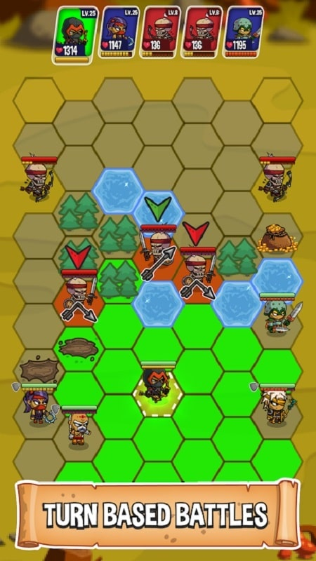 Five Heroes mod android