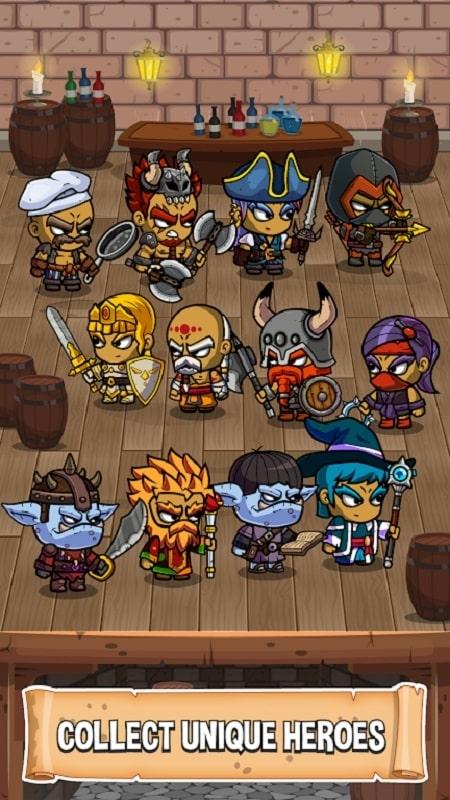 Five Heroes mod
