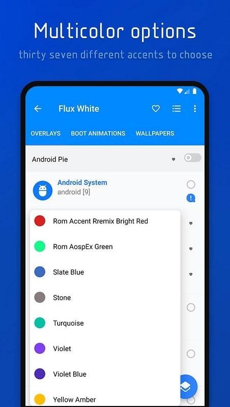 Flux White mod