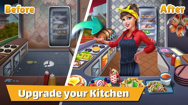 Food-Truck-Chef-Cooking-MOD-apk