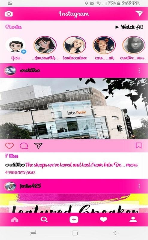 GB Instagram mod apk