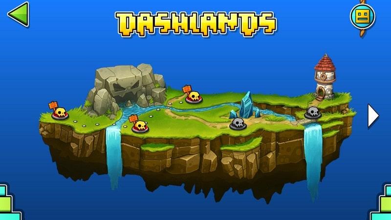 Geometry Dash World mod free