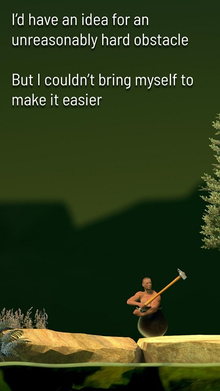 Getting Over It mod apk