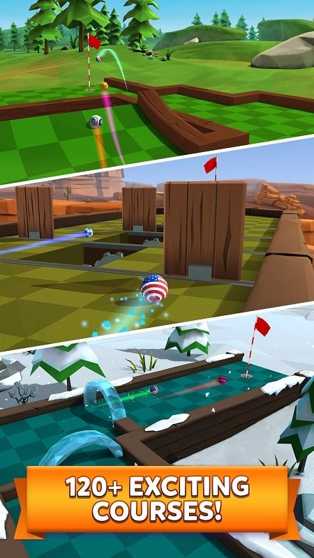 Golf Battle mod android
