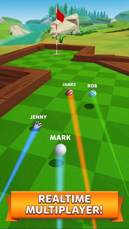 Golf Battle mod download