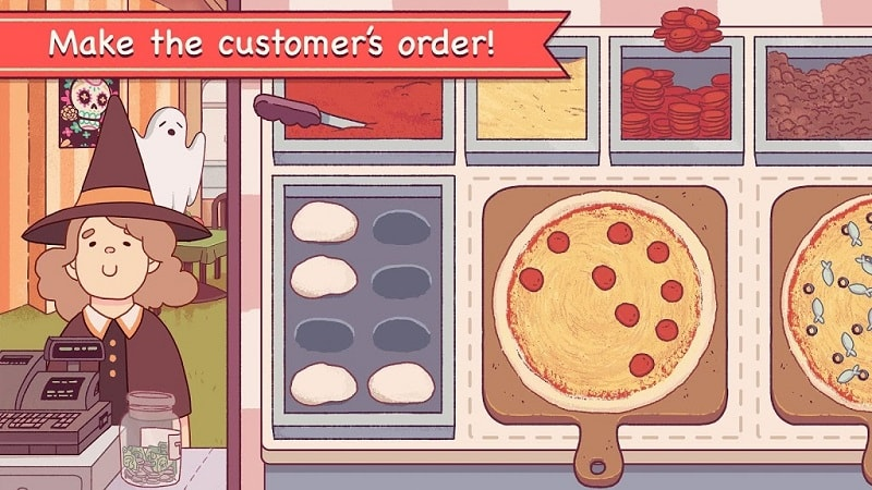 Good Pizza Great Pizza mod