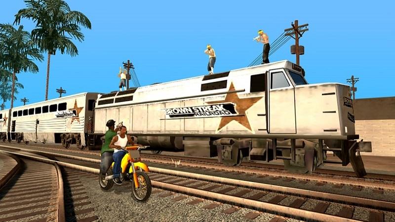 Grand Theft Auto San Andreas apk