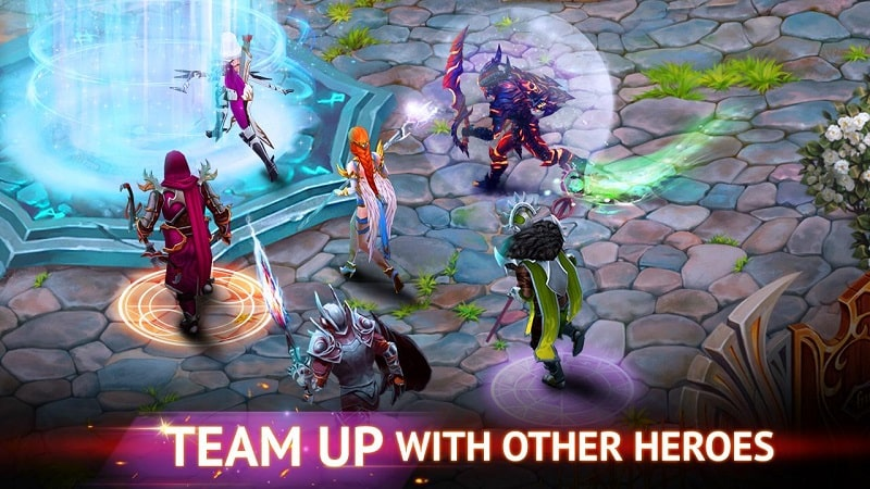 Guild of Heroes mod android