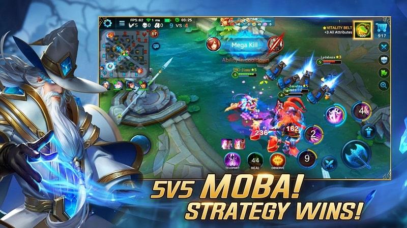 Heroes Evolved mod