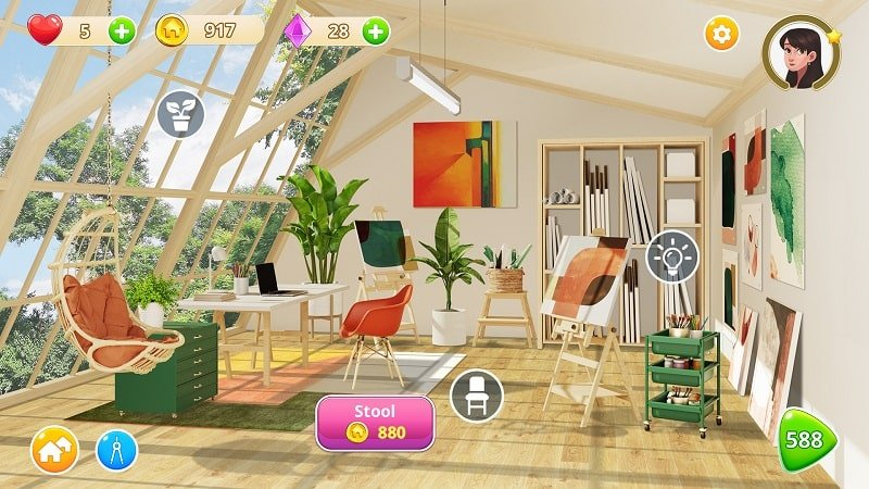 Homecraft Home Design Game mod