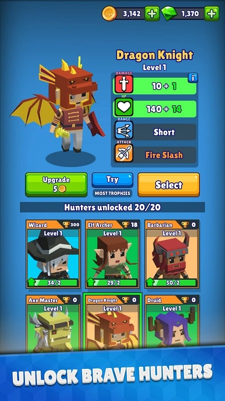Hunt Royale mod free
