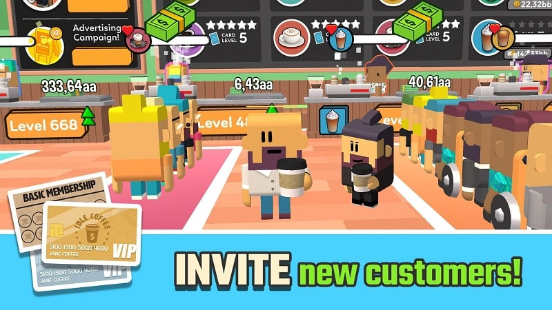 Idle Coffee Corp mod android