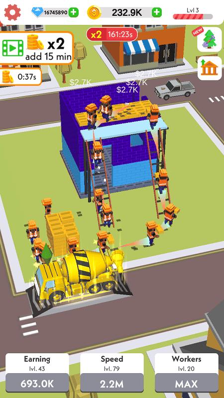 Idle Construction 3D mod