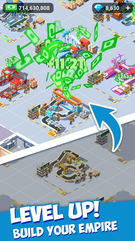 Idle-Courier-Tycoon-mod-apk-free