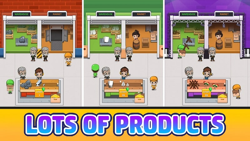Idle Factory Tycoon mod android