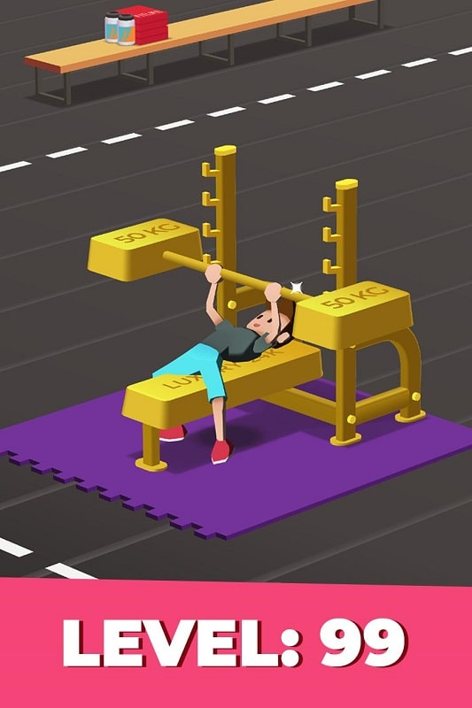 Idle Fitness Gym Tycoon mod android