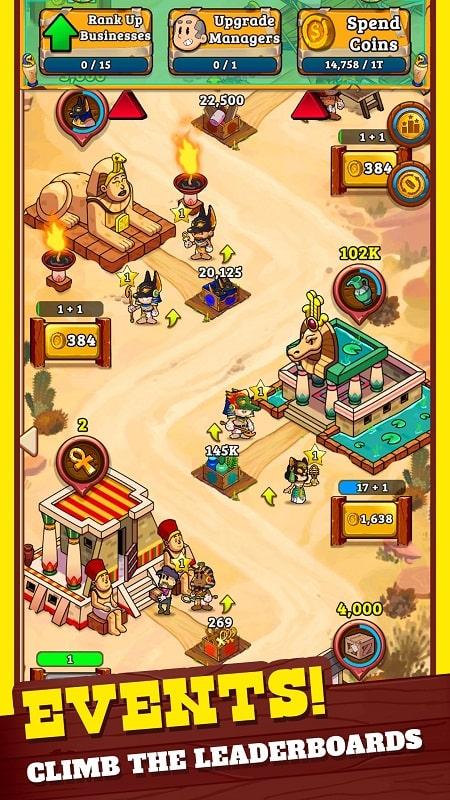 Idle Frontier Tap Town Tycoon mod download