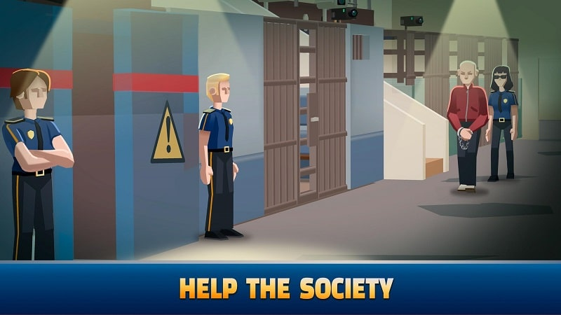 Idle Police Tycoon mod download