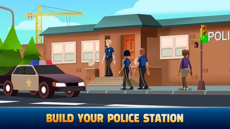 Idle Police Tycoon mod