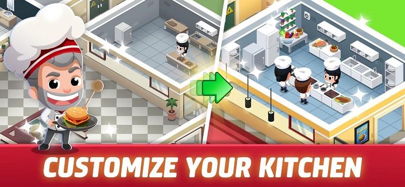 Idle Restaurant Tycoon mod free