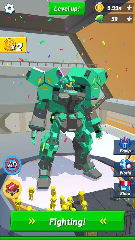 Idle Robot Inc MOD APK