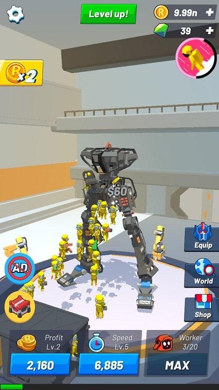 Idle Robot Inc MOD