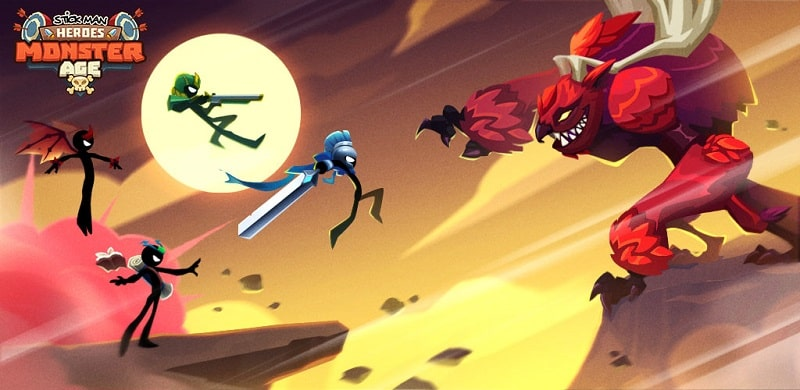 Idle-Stickman-Heroes-mod