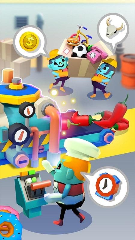 Idle Super Factory mod apk