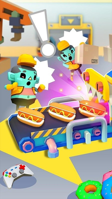 Idle Super Factory mod