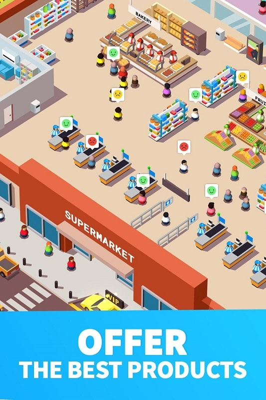 Idle Supermarket Tycoon mod android