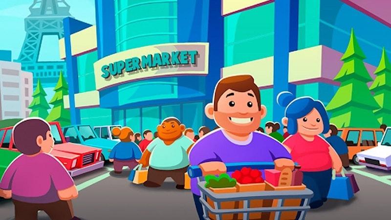 Idle-Supermarket-Tycoon