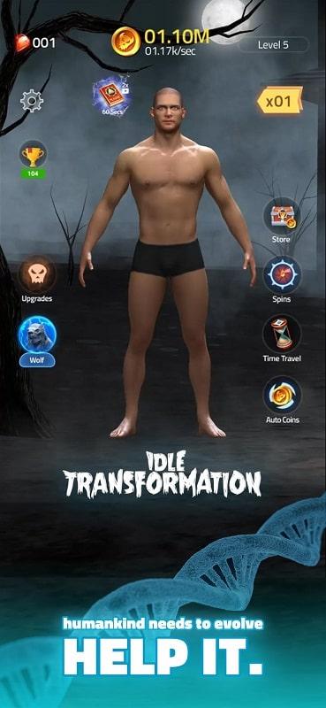 Idle Transformation 1