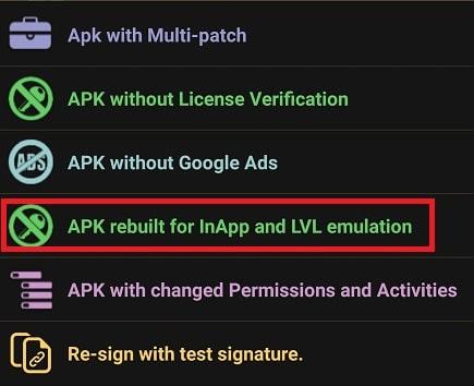 InApp and LVL