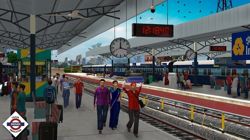 Indian Train Simulator mod android