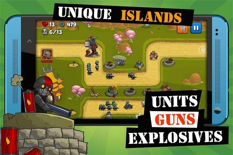 Island Defense mod apk free