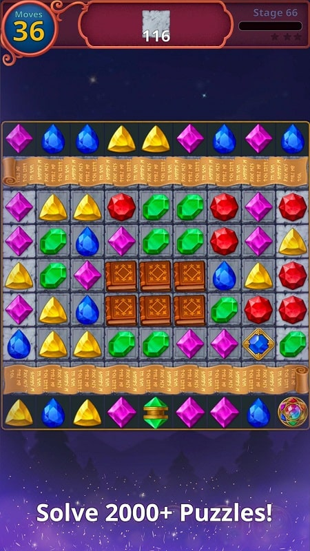 Jewels Magic Mystery Match3 mod android
