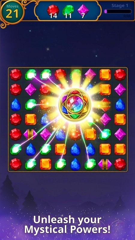Jewels Magic Mystery Match3 mod apk
