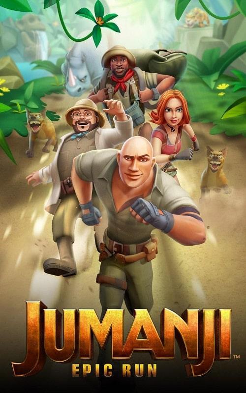 Jumanji Epic Run mod download