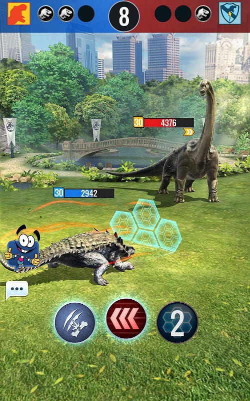 Jurassic World Alive mod android