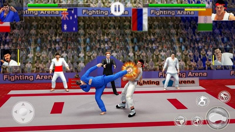Karate Fighting mod free